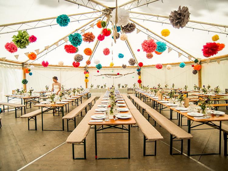 Zeltverleih für Hochzeiten im Chiemgau
